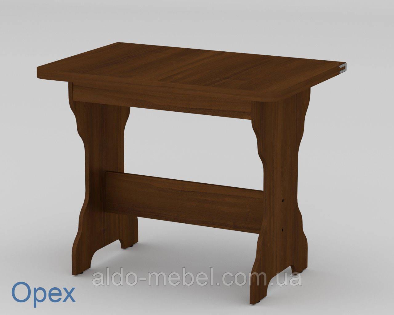 Стол кухонный КС - 3 Раскладной Габариты Ш - 900 мм; В - 732 мм; Г - 590 мм (Общая 1180х716х590) (Компанит)