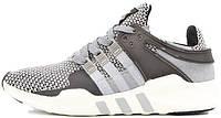 Кроссовки Adidas EQT Running серые. Живое фото. Топ качество! (адидас ранинг)