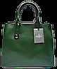 Стильная женская сумка GALANTY из натуральной кожи зеленого цвета SJR-028070