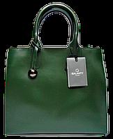 Стильная женская сумка GALANTY из натуральной кожи зеленого цвета SJR-028070, фото 1