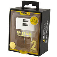 Проверено!    Зарядное устройство для телефона Remax RMT 7188. Два USB по 2.1A