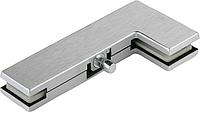 Крепление фрамуги верхнего света для маятниковых дверей и перегородок из стекла Dorma Universal PT40