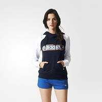 Женская толстовка  adidas Trefoil (АРТИКУЛ:AJ7688)