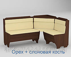 Кухонный уголок Корсика Габариты Ш - 1600 мм; Г - 1200 мм (Компанит)