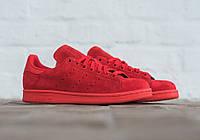 Кроссовки женские adidas stan smith original Rio power red. адидас Стен смит, сайт магазин кроссовок