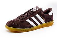 Кроссовки Adidas Hamburg коричневые, мужские, р. 41 42 43 44 45 46
