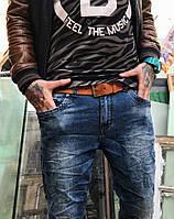 Джинсы Ritter 8033 молодёжные жатка стильная мужская одежда, джинсы, брюки, шорты