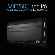 Power Bank Vinsic VSPB206B 20000 mAh 100% оригинал