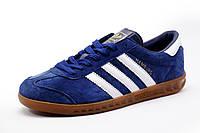 Кроссовки Adidas Hamburg синие, мужские, р. 43 44