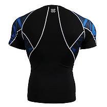 Комплект компрессионная футболка Fixgear и компрессионные штаны C2S-B1+P2L-B1, фото 3