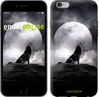 "Чехол на iPhone 6s Plus Воющий волк ""934c-91"""