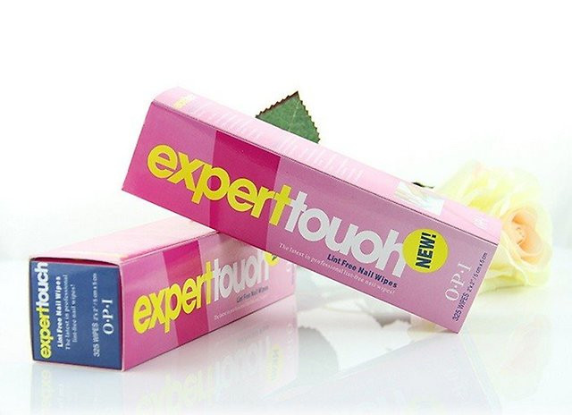Салфетки безворсовые O.P.I Expert Touch Nail Wipes, 325 шт