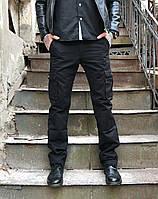 Джинсы Iteno 8813-1 карго чёрные стильная мужская одежда, джинсы, брюки, шорты