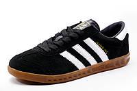Кроссовки Adidas Hamburg черные, мужские, р. 43 44