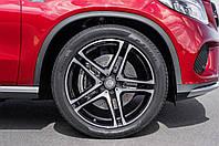 Литые диски Replica Mercedes (MB523) R21 W10 PCD5x112 ET52 DIA66.6 (BKF)
