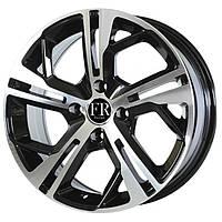 Литые диски Replica Peugeot (PG5139) R15 W6.5 PCD4x108 ET18 DIA65.1 (black machined face)
