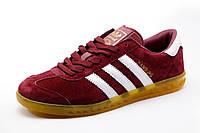 Кроссовки Adidas Hamburg бордовые, мужские, р. 43 44 45 46