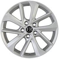 Литые диски Replica Toyota (TY5110) R17 W7 PCD5x100 ET38 DIA60.1 (hyper silver)