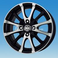 Литі диски Kormetal KM 195 R15 W6.5 PCD4x108 ET37 DIA67.1 (BD)