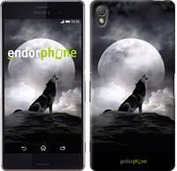 "Чехол на Sony Xperia Z3 dual D6633 Воющий волк ""934c-59"""