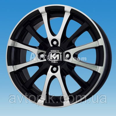 Литые диски Kormetal KM 195 R15 W6.5 PCD5x108 ET37 DIA67.1 (H/B)
