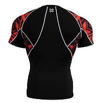 Комплект компрессионная футболка Fixgear и компрессионные штаны C2S-B2+P2L-B2, фото 3