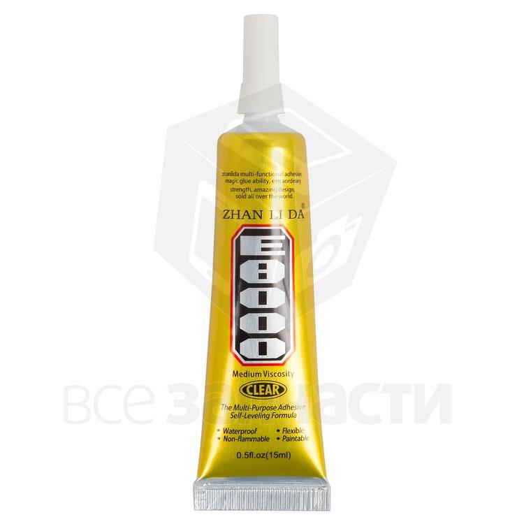 Клей-герметик E8000, 15 мл, для приклеивания тачскрина, дисплея