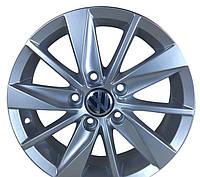 Литые диски ZD Skoda 15 R15 W6 PCD5x112 ET40 DIA57.1 (silver)