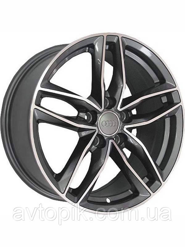Литі диски Replica Mercedes (BK690) R17 W7.5 PCD5x112 ET28 DIA66.6 (GP)