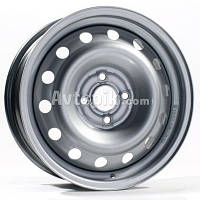 Стальные диски Steel Logan R14 W5.5 PCD4x100 ET43 DIA60 (silver)