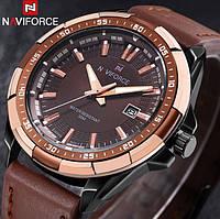 Класичний годинник Naviforce Advanter Gold № 9056
