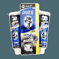 Интенсивная отбеливающая зубная паста Darlie с Бамбуковым Углем и солью.,75гр