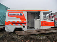 Кузов Mercedes-Benz Vario 612-818 грузовой спец