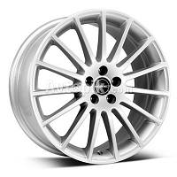 Литые диски Borbet LS R16 W7 PCD4x100 ET45 DIA64.1 (crystal silver)