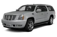 Защита заднего бампера Cadillac Escalade ESV (2007-2014)