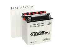 Аккумулятор мото EXIDE 12V 11AH 130A YB10L-A2/EB10L-A2 [135X90X145]
