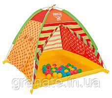 Палатка детская с шариками 112х112хН90 см