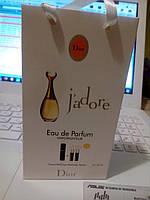 Подарочный набор парфюмерии Christian Dior J'adore (Кристиан Диор Жадор), 3*15 мл