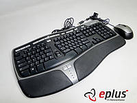 Комплект Клавиатура Microsoft Natural Ergonomic Keyboard 4000 USB (B2M-00020) & Mouse