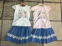 Детский летний костюм для девочек