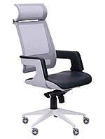 Кресло Axon белый, сетка черная