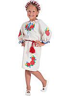 Плать-вышиванка для девочки, 0024, размер 3 года
