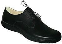 Ортопедические женские туфли на шнурках