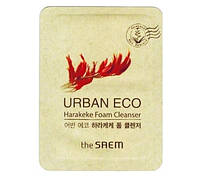 Пенка с новозеландским льном The Saem Urban Eco Harakeke Foam Cleanser