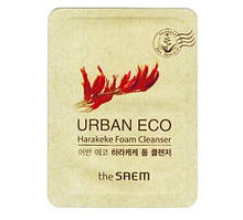 Пенка с новозеландским льном The Saem Urban Eco Harakeke Foam Cleanser