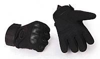 Тактические перчатки Oakley черний