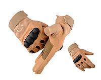 Тактические перчатки Oakley коричневый