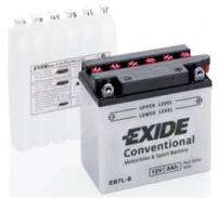 Аккумулятор мото EXIDE 12V 8AH 85A YB7L-B/EB7L-B [135X75X133]