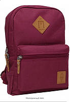 Bagland - рюкзак молодежный mini. Бордовый
