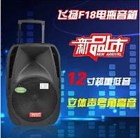 Колонка TEMEISHENG A18S с Bluetooth и 2 микрофонами